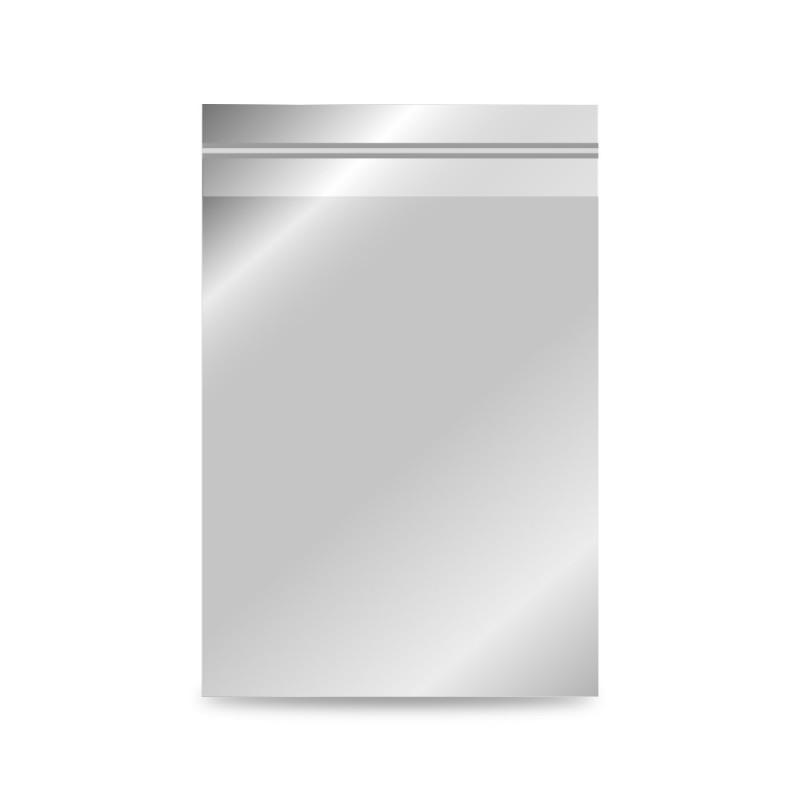Plata mediana | Sobre de plástico metalizado para regalo