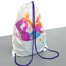 Mochila | Bolsa de plástico con cordón para fiestas (Paquete 25uds.)