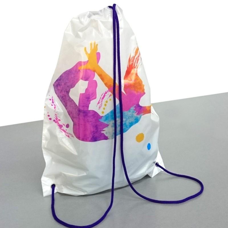 Bolsa mochila cordón