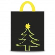 Navidad Pino | Bolsa de plástico para navidad (Paquete 50uds.)