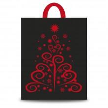 Fantasía Roja | Bolsa de plástico para navidad (Paquete 50uds.)