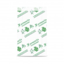 Farmacia 15+5x25 | Sobre de papel celulosa para farmacia (Paquete 100uds.)