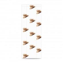 Panadería 20+10x55 | Bolsa de papel celulosa blanco (Paquete 100uds.)