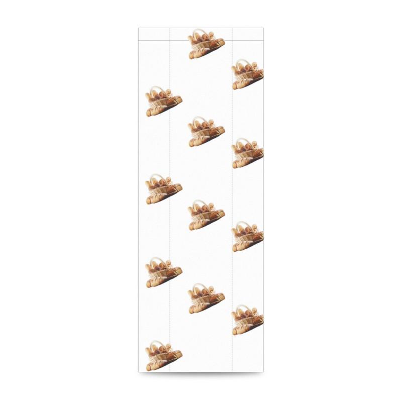 Sobre de papel para panadería color blanco, tiene una medida de 20+10x55 centímetros, el sobre está fabricado con papel de 30 gr