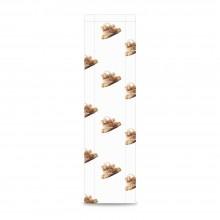 Panadería 12+5x55 | Bolsa de papel celulosa blanco (Paquete 100uds.)