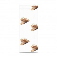 Panadería 12+5x30 | Bolsa de papel celulosa blanco (Paquete 100uds.)