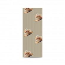 Sobre de papel para panadería color kraft, tiene una medida de 12+5x30 centímetros, el sobre está fabricado con papel de 30 gr.