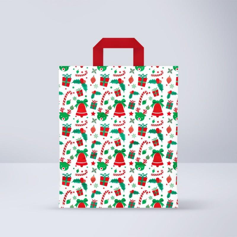 Bolsa de papel para navidad (Paquete 25uds.)