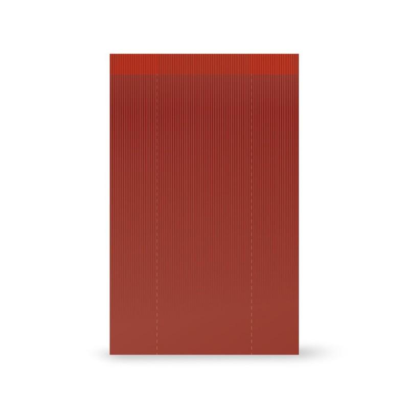 Bolsa papel sobre | Verjurado Burdeos
