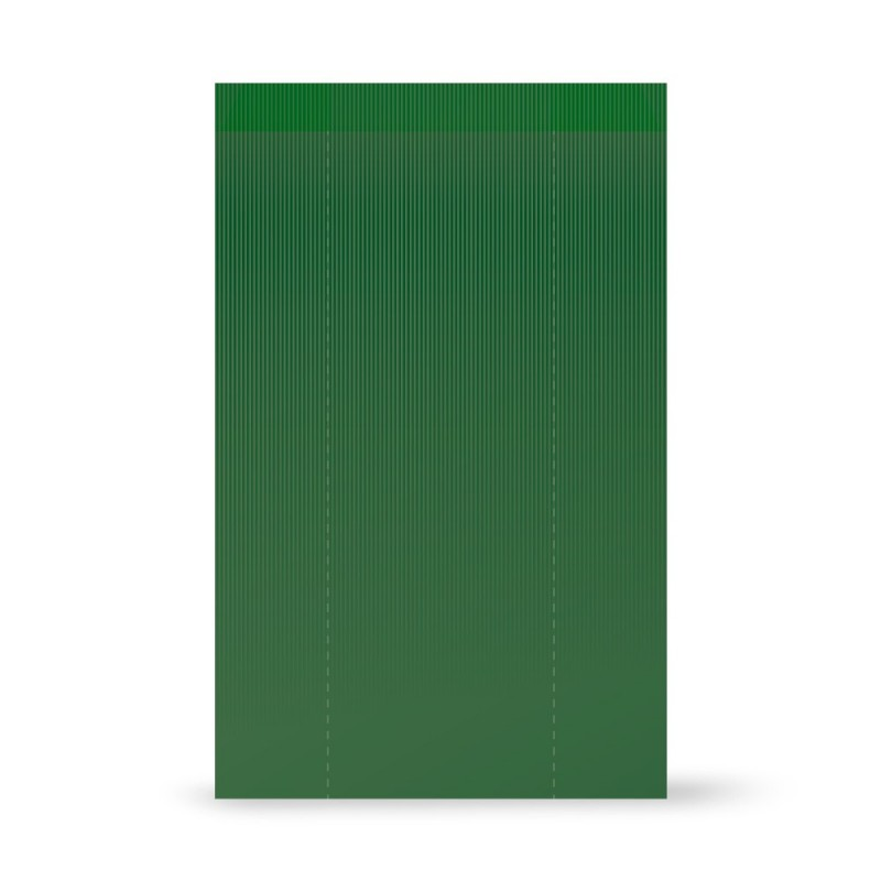 Bolsa papel sobre | Verjurado Verde