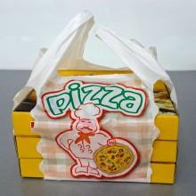 Pizzería Mediana   Bolsa de plástico para llevar pizza (Paquete 200uds)