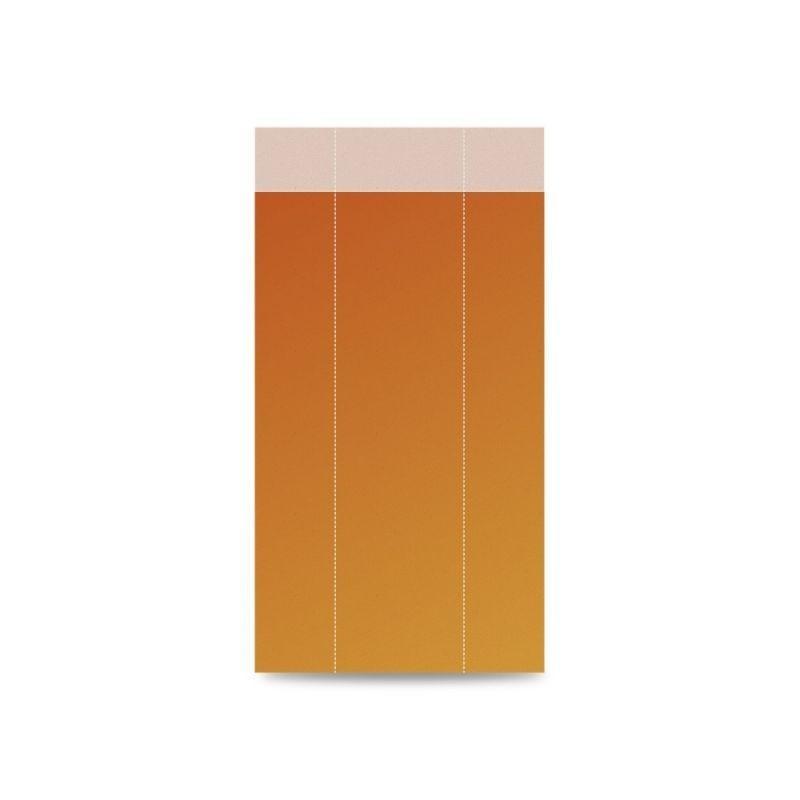 Naranja | Sobre de papel para regalo (Paquete 100uds.)