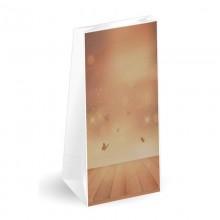 Mariposas | Sobre americano de papel con fondo cuadrado (Paquete 50uds.)