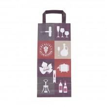 Vino | Bolsa de papel para botellas de vino (Paquete 25uds.)