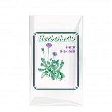 Bolsa sobre de plástico para herbolario con una medida de 18x30 centímetros.