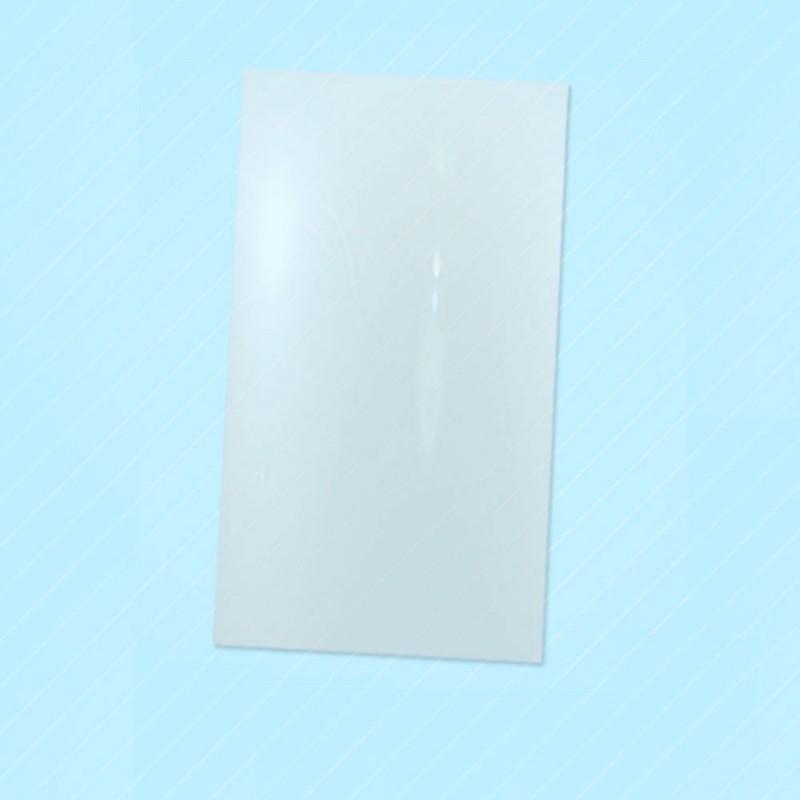 Bolsas sobre de plástico transparente con un tamaño de 12x25 centímetros, las bolsas son aptas para la alimentación