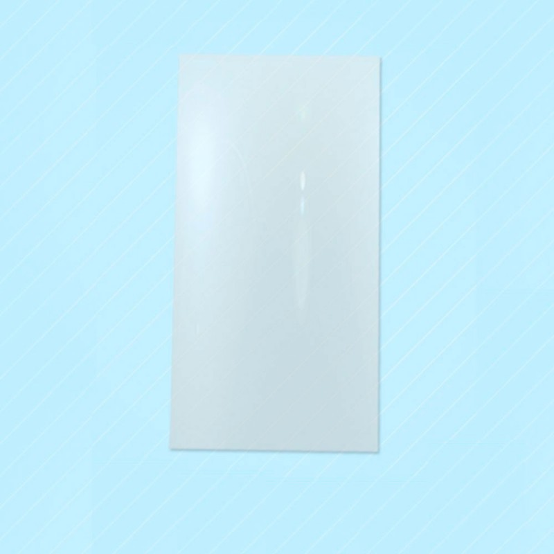 Bolsas sobre de plástico transparente con un tamaño de 15x30 centímetros, las bolsas son aptas para la alimentación