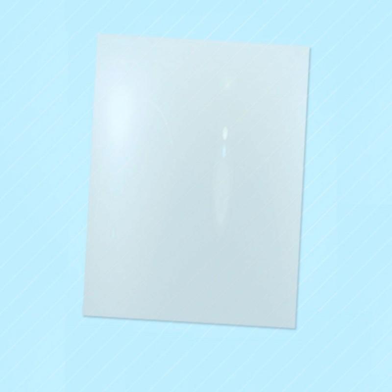 Bolsas sobre de plástico transparente con un tamaño de 27x35 centímetros, las bolsas son aptas para la alimentación