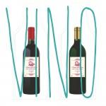 Bolsas para botellas de vino o licores, bolsa para vinoteca