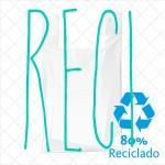 Bolsas anónimas recicladas   Fabricadas con más de un 70% de plásticos reciclado.