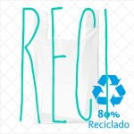 Bolsas blancas reutilizables